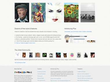 MyFolio (Artwork, Social networking)