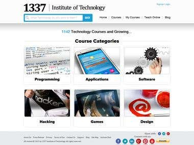 1337 Institute of Technology (LMS, Video player)