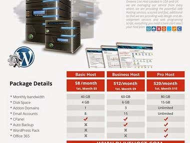 Web Hosting Brochure