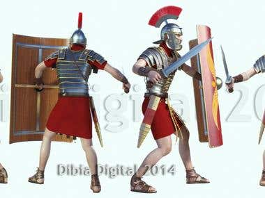 Roman Characer Camera Angles