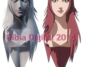 3D Anime Character Model