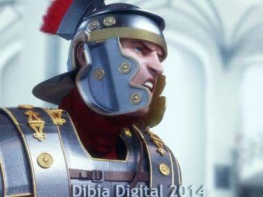 Roman Soldier Close Up