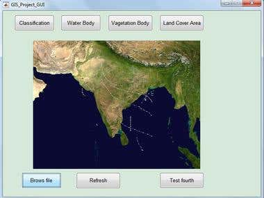Research project of Satellite Image on Matlab GUI