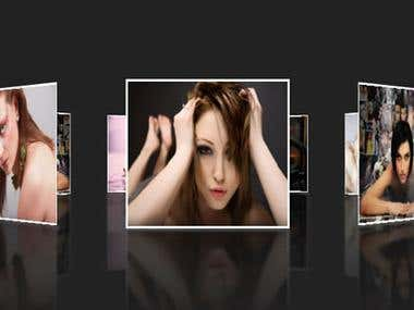 Dynamic 3D Photo Galery
