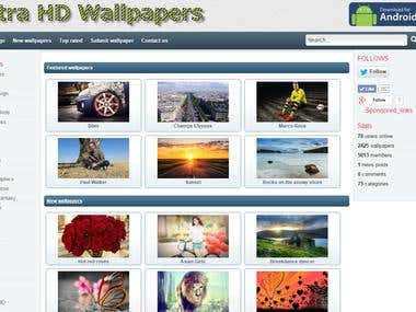 Wallpapers Website SEO