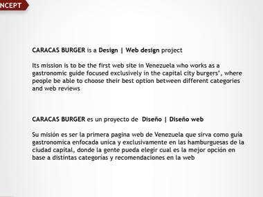 Caracas Burger