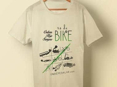 Winner design in competition for a bike shirt