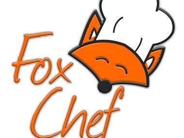 Second logo suggestion for Fox Chef, a store kitchen utensil