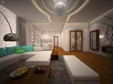 Interior modeling and rendering