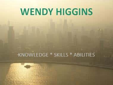 Wendy Higgins - Bio