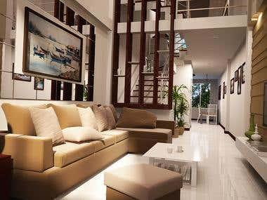 House 3mx15m.