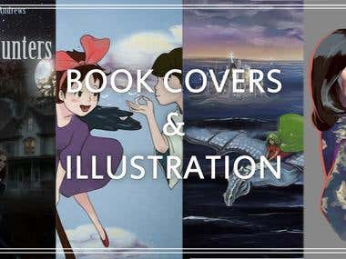 BOOK COVERS & ILLUSTRATION