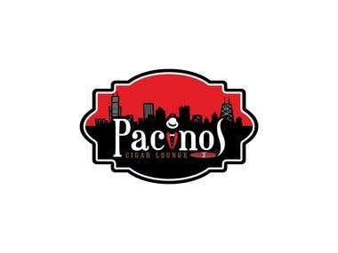 Logo for Pacinos Cigar Lounge
