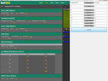 Bet365 Scraping