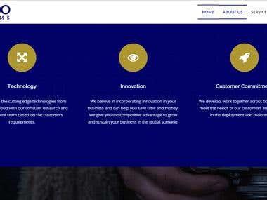 Responsive UI web design
