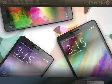 HEMA-MAXIM Smartphone Mockup.
