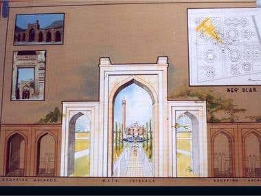 Mosque and Hajj House Designs