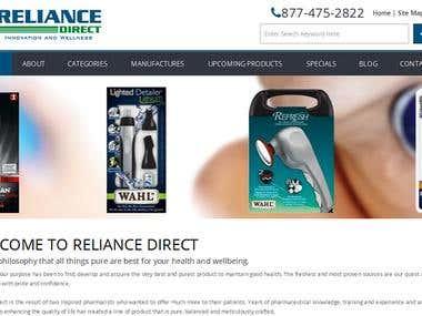 PHP Web design and Development - RelianceDirect