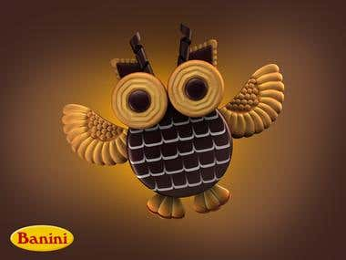 Banini products Owl
