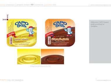 Capo milk pudding lid designs.