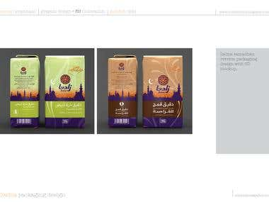 Zadna food packaging.