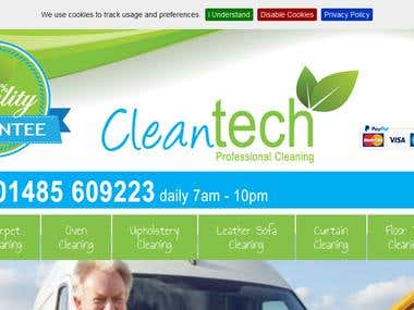 SEO of Cleantech Norfolk