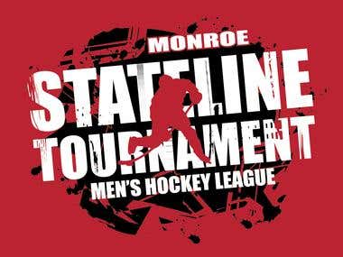 State-line Hockey T-Shirt