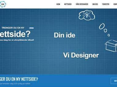 Website ithjelp24.no