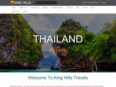 King Hills travels