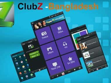 ClubZ -Bangladesh iOS+Android App