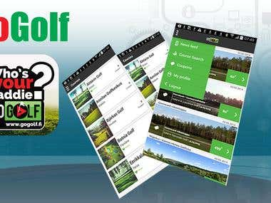 GoGolf Android App