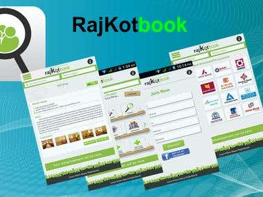 Rajkotbook Android Ecommerce App