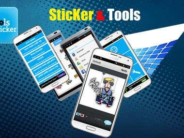 Sticker & Tools Android App