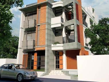 3 story residence. in Dhaka,Bangladesh