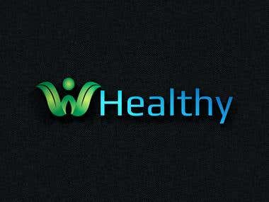 a logo for wellness brand