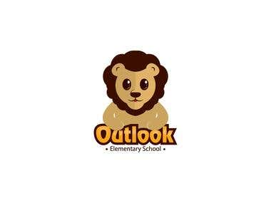 funny logo for kids school