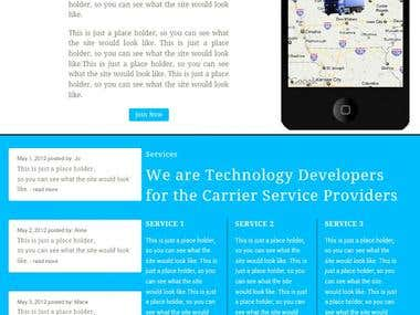 Mockup for Transportation Service Provider using Mobile App