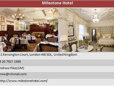 UK Hotel Research