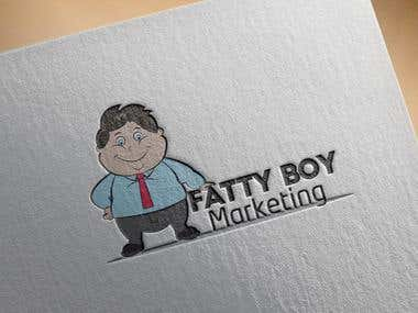logo for fatty boy marketing