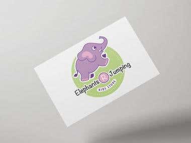 Elephants R Jumping Logo
