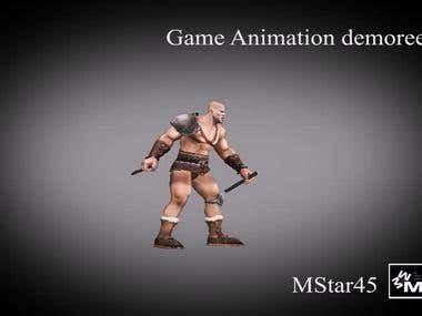 Game animation
