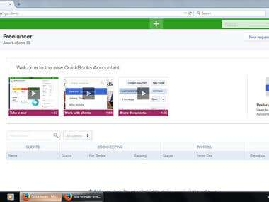 QUICKBOOKS DESKTOP AND ONLINE BOOKKEEPER