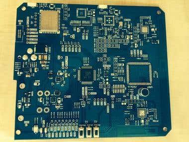 PCB Design based Tiva MCU