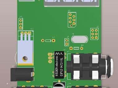 PCB -3D design example