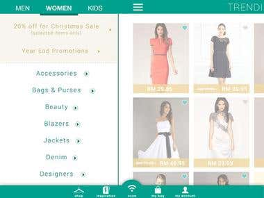 Satchel - Fashion Everywhere (iPhone/iPad Application)