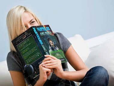 Book Cover Design - Realistic Mock-Ups