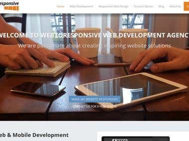 Web to Responsive - web development agency