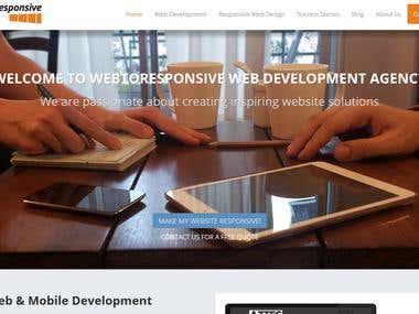 Web to Responsive - web development agency
