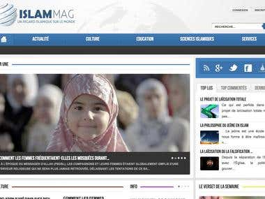 Web Site & mobile web site for Newspaper