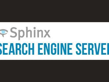 Sphinx Search install and implement